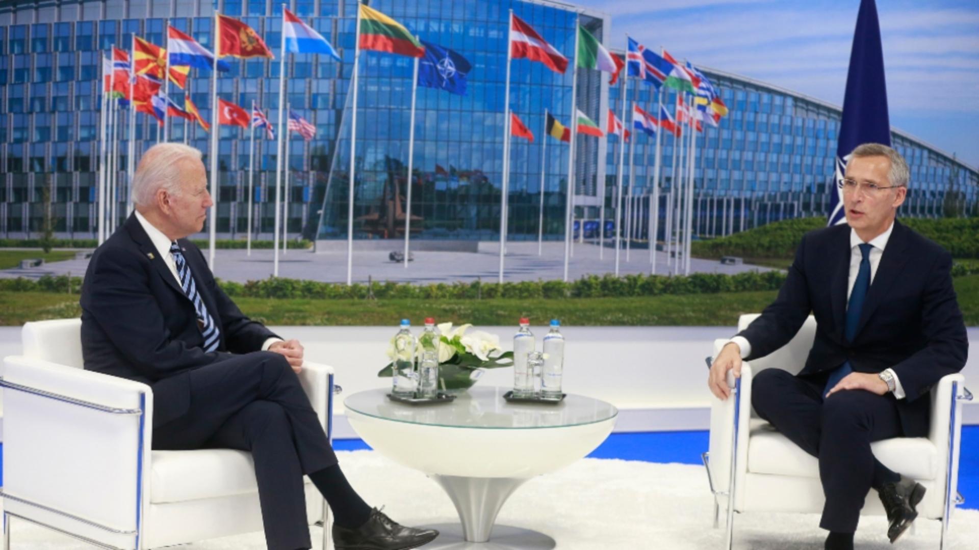 Joe Biden reafirmă angajamentul SUA pentru apărarea colectivă în cadrul NATO Foto: Twitter.com
