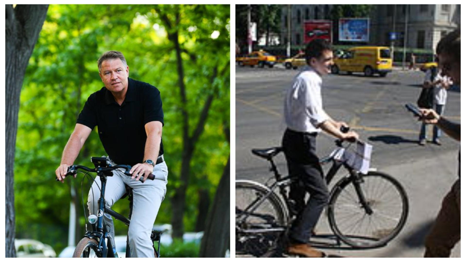 Klaus Iohannis și Nicușor Dan ies la pedalat de Ziua bicicletei