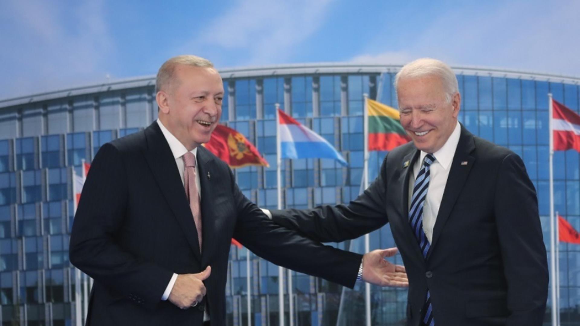 Erdogan, întâlnire cu Biden