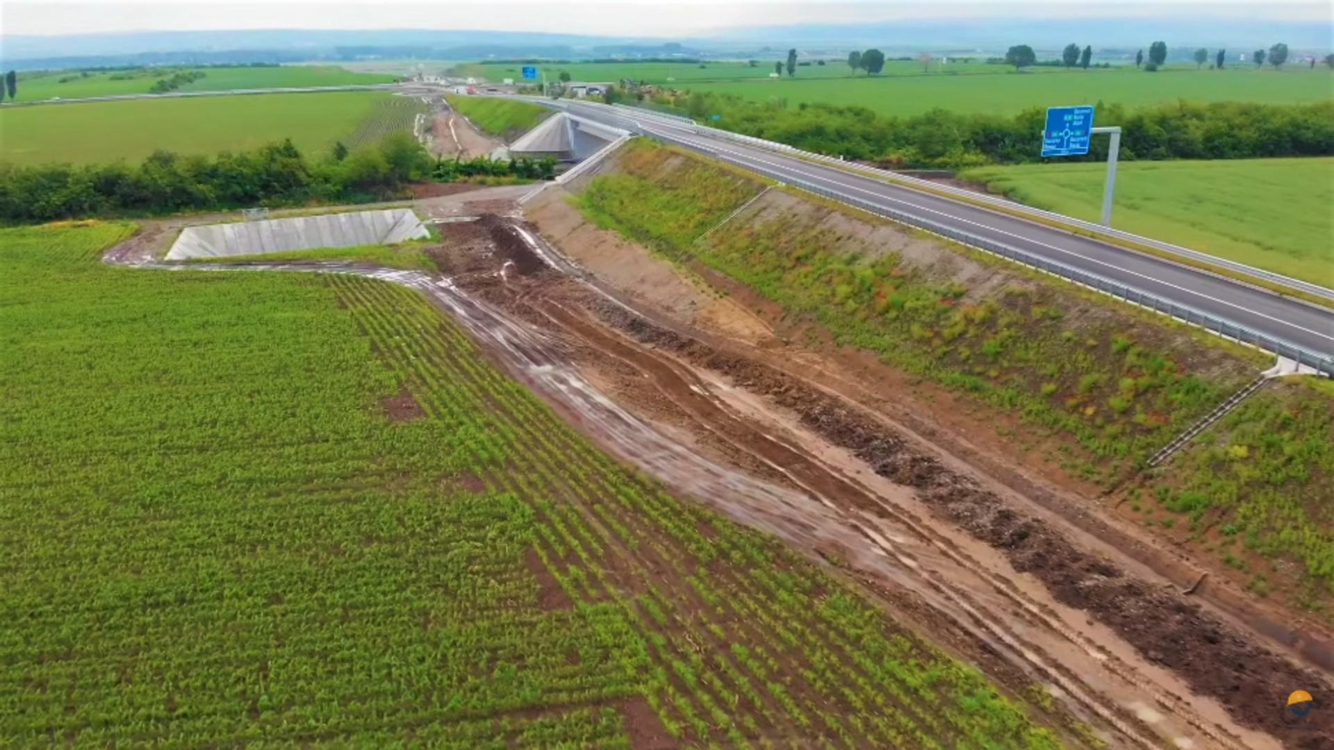 Primul oraș din România înconjurat de o autostradă-centură. Foto/Facebook/Asociația Pro Infrastructura