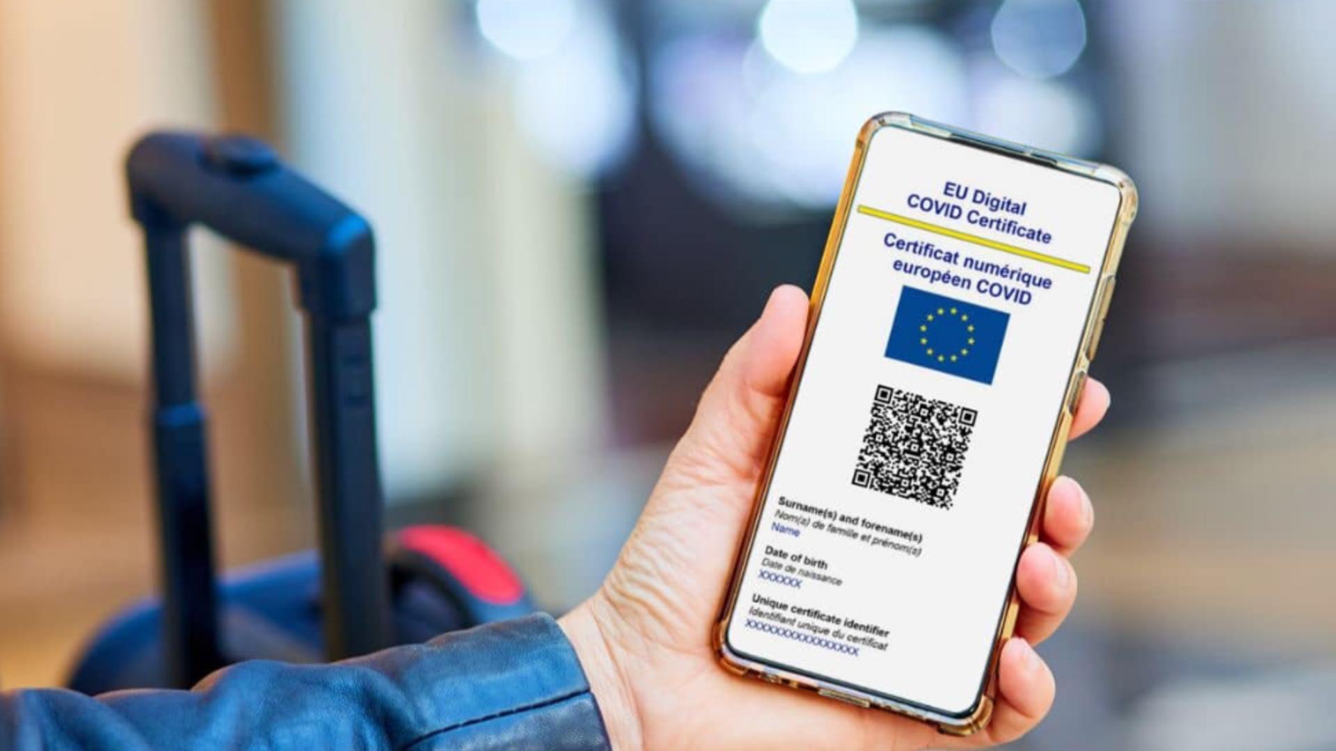 CUM obții pașaportul COVID-19 - 8 PAȘI pentru certificatul digital