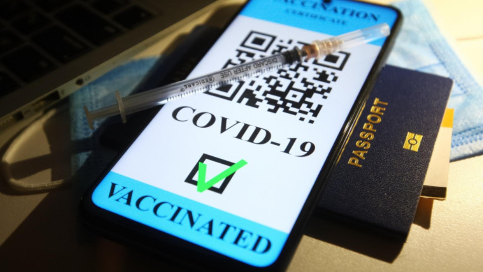 Certificat de vaccinare anti-Covid-19