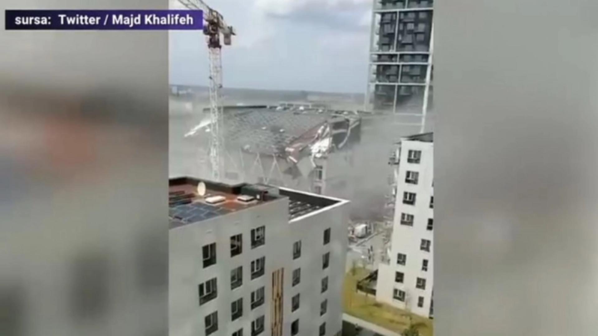 Clădire prabușită Belgia