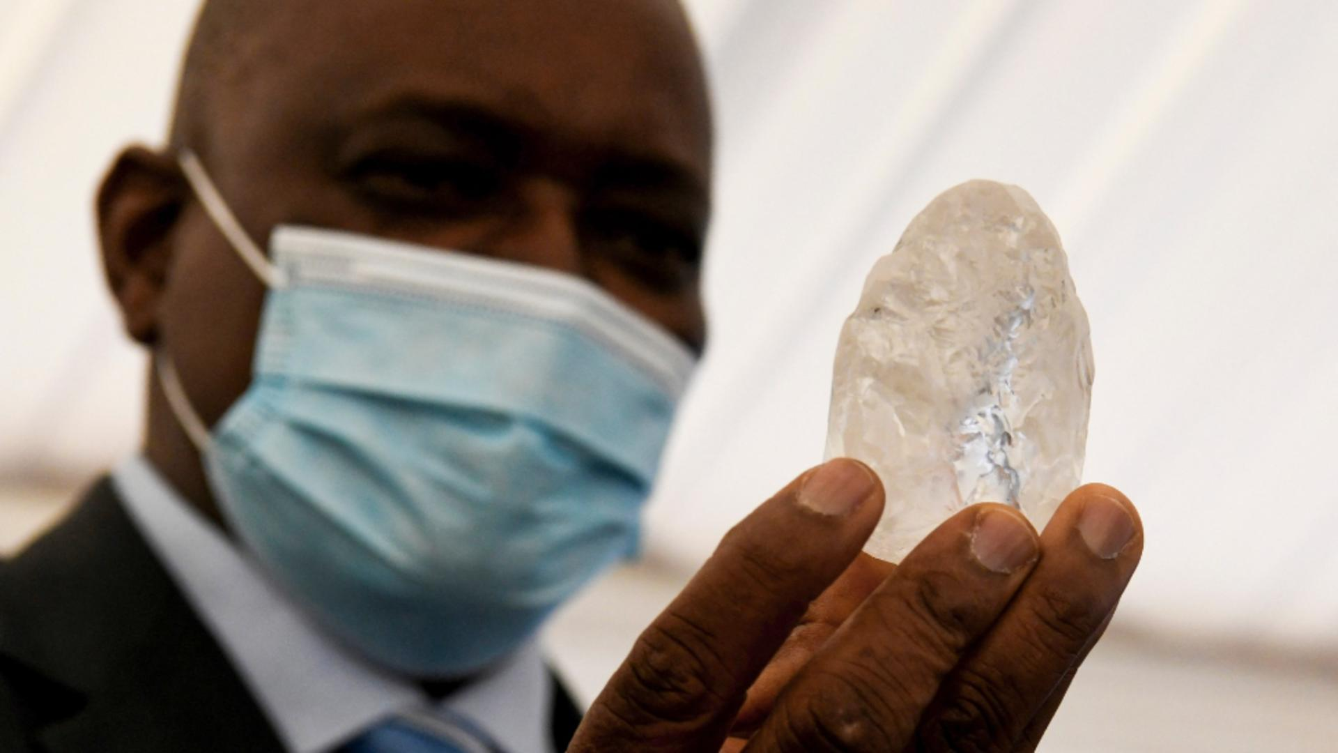 Diamant uriaș. Foto: Profi Media