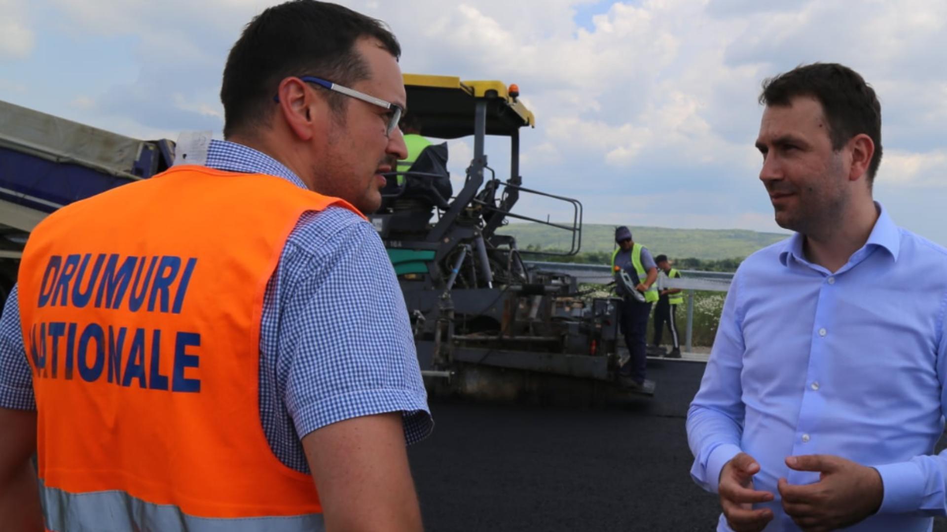 Ministrul Transporturilor - Cătălin Drulă