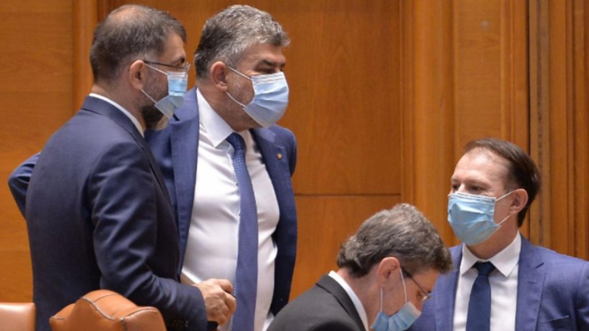 Marcel Ciolacu spune că PSD nu va susține un guvern minoritar PNL. Foto/inquam