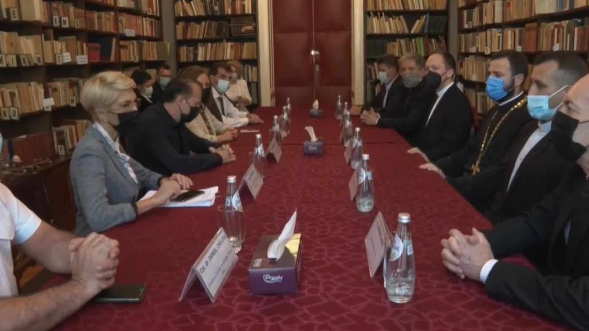 Florin Cîțu la întâlnire cu reprezentanții cultelor religioase