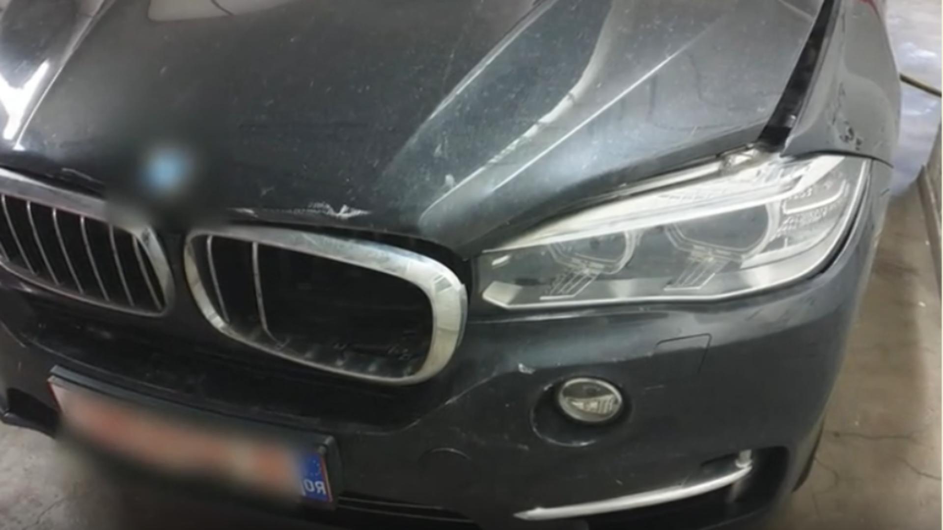 Accident rutier ministru