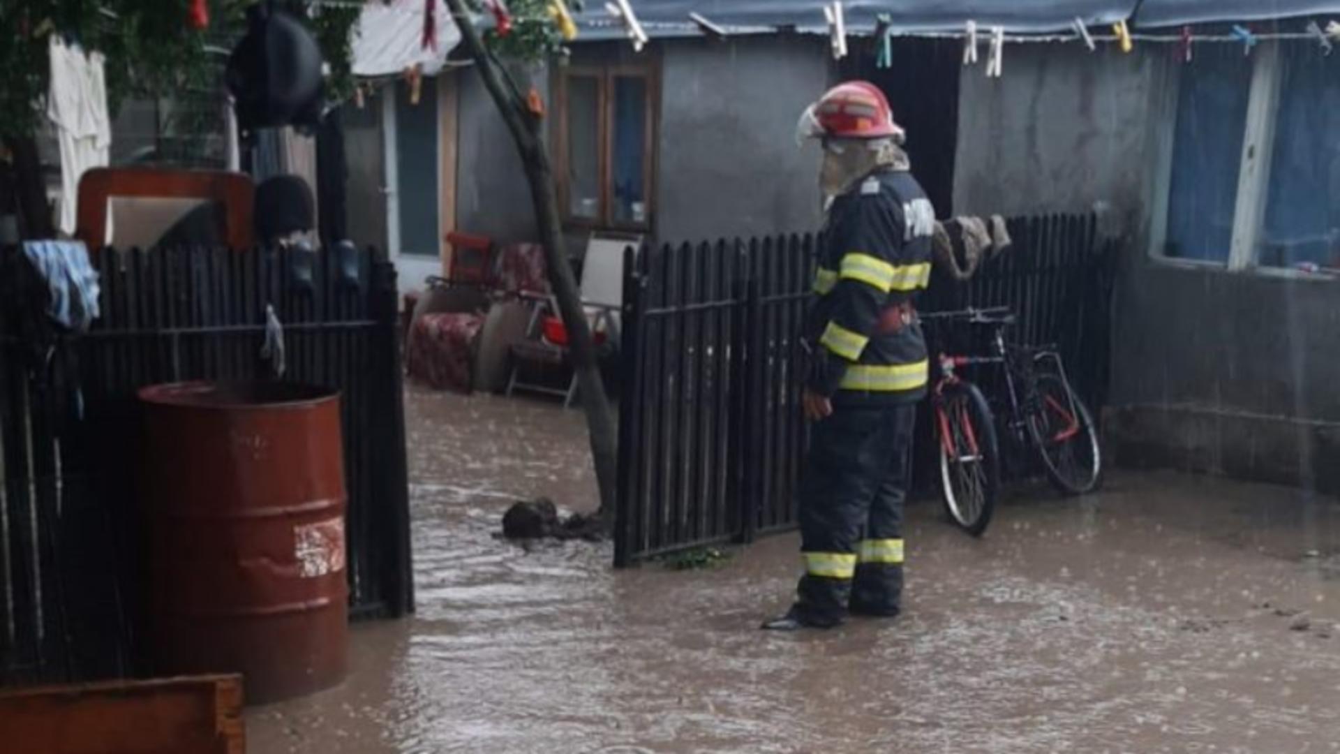 Inundații Tulcea