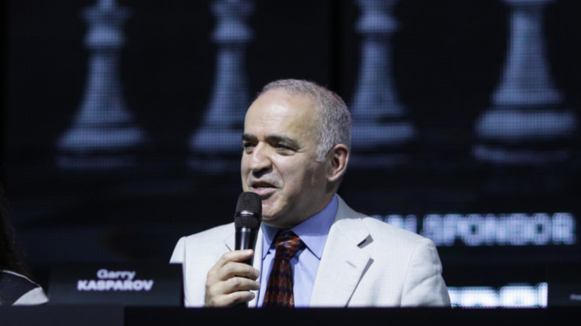 Gari Kasparov, mesaj extrem de dur pentru Vladimir Putin: E un dictator. Sper să răspundă pentru crimele comise Foto: INQUAM/Octav Ganea