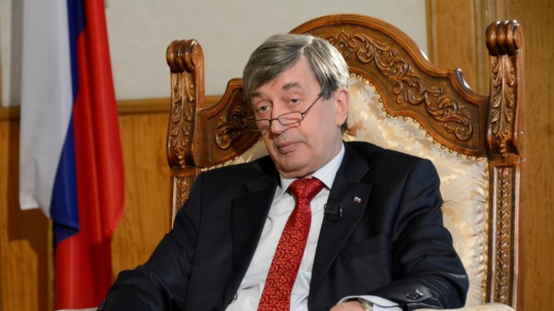 Valery Kuzmin, ambasadorul Rusiei în România. Foto/Ambasada Rusiei