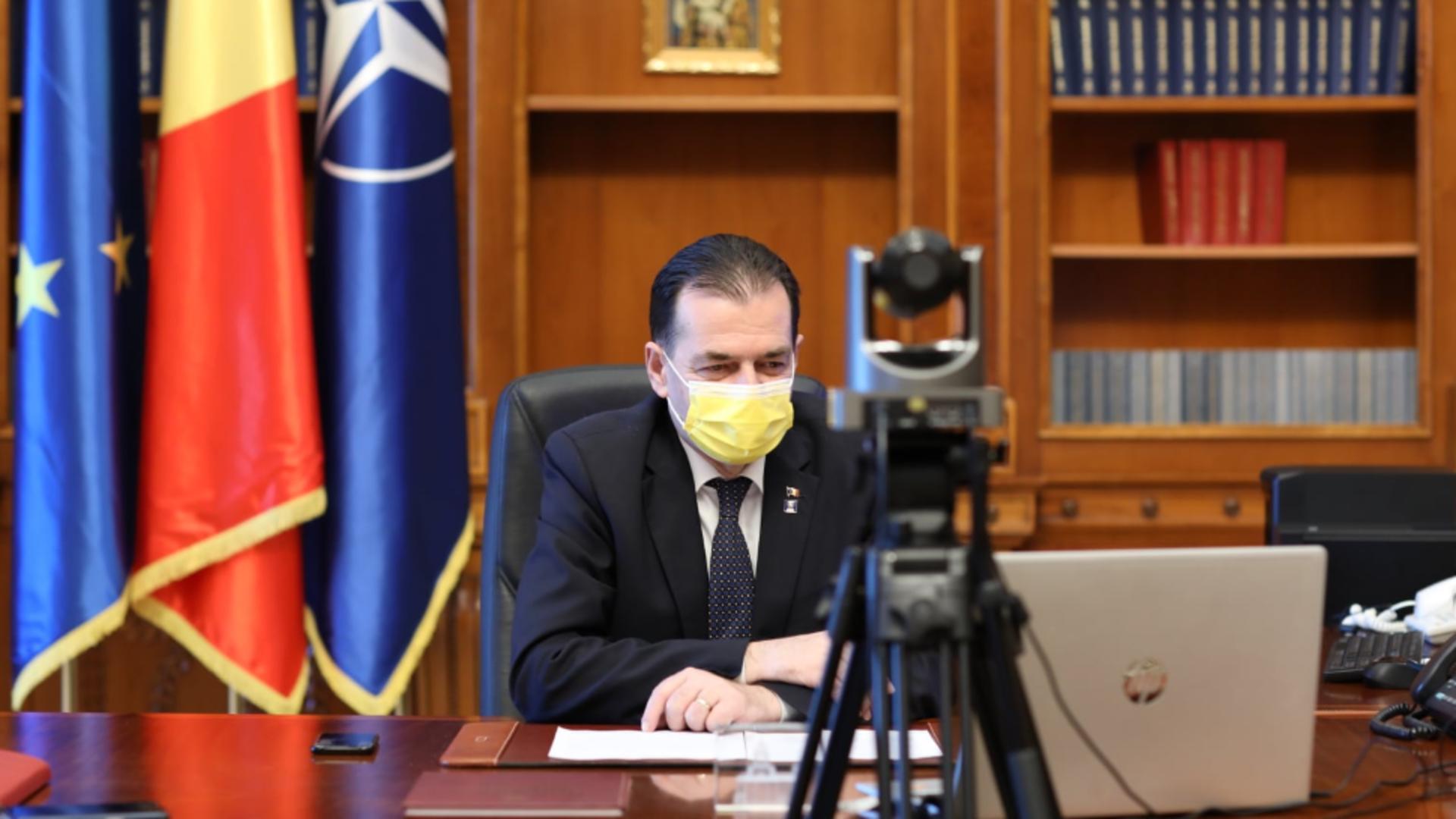 Ludovic Orban, președintele Camerei Deputaților