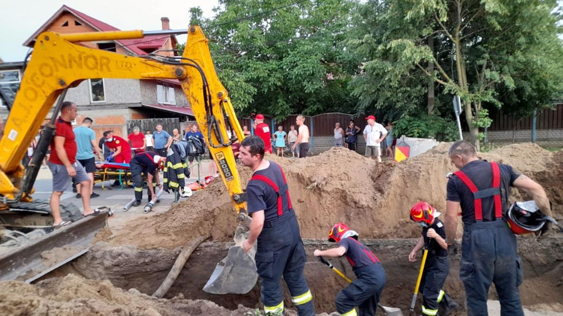 Operațiune contracronometru pentru salvarea celor 2 muncitori (sursă: pressalert.ro)