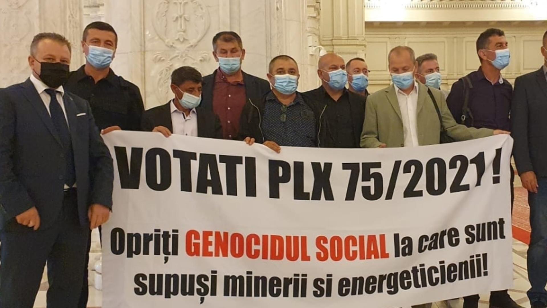 PENSIONAREA  anticipată pentru mineri și energeticieni - VOTATĂ în Parlament
