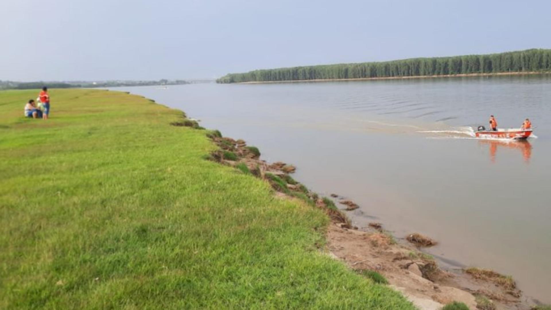 Căutări pe Dunăre, la Fetești