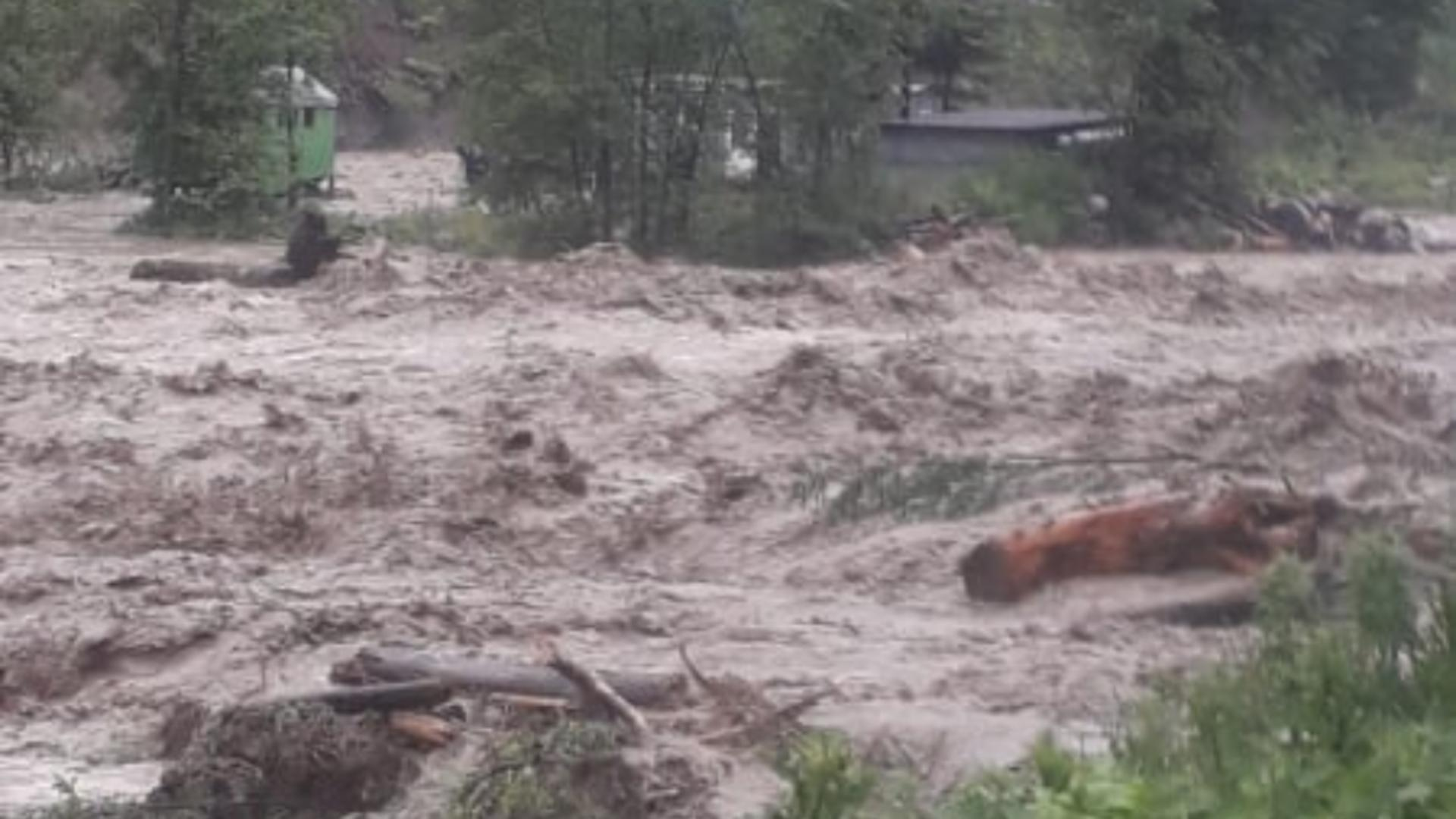 Inundații Vrancea
