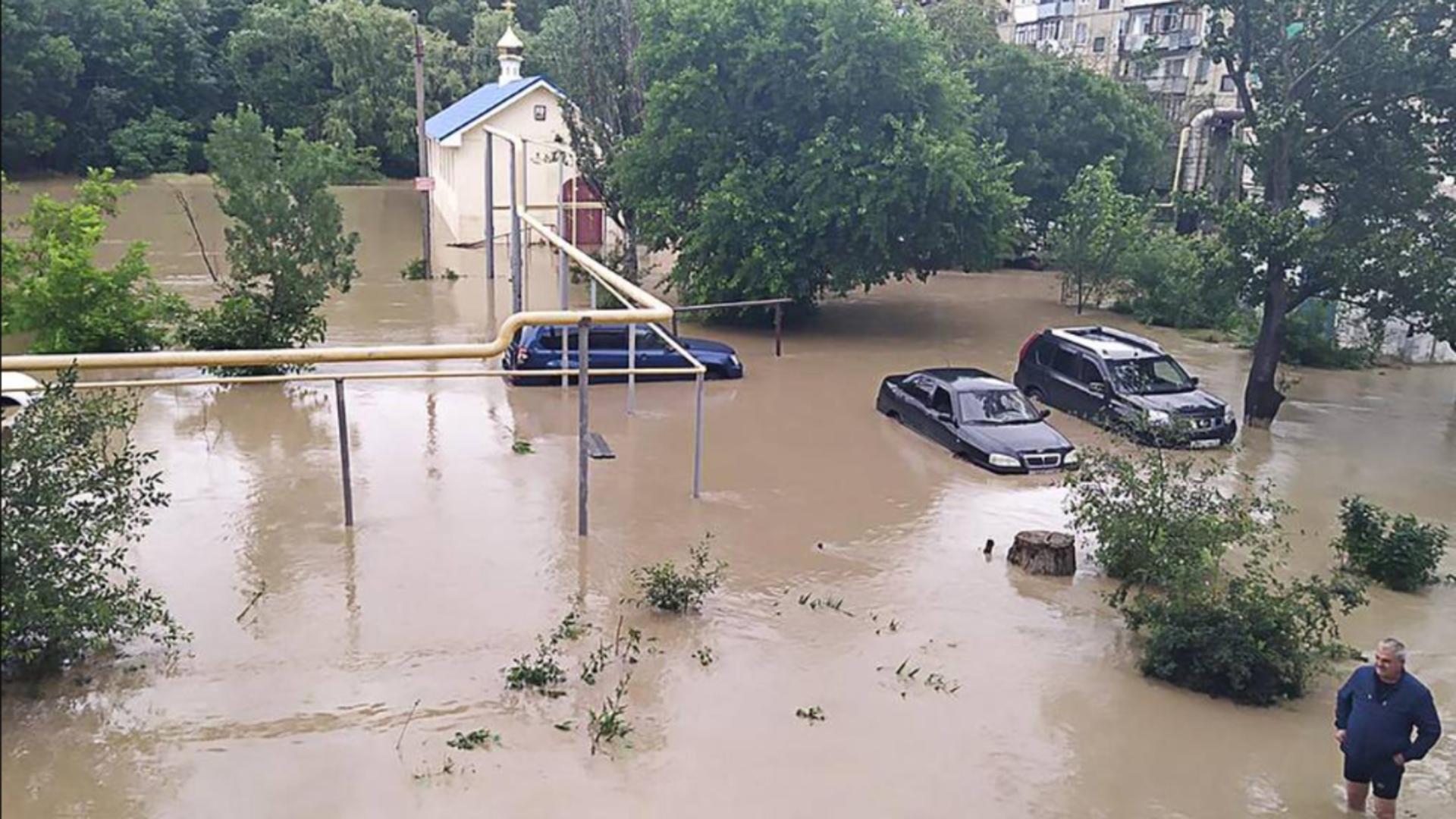 Inundații Crimeea