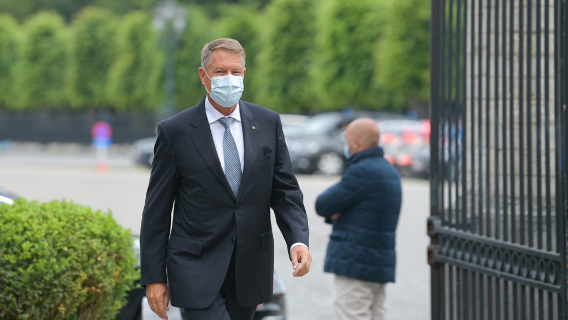 Președintele României, Klaus Iohannis / FOTO: Administrația Prezidențială