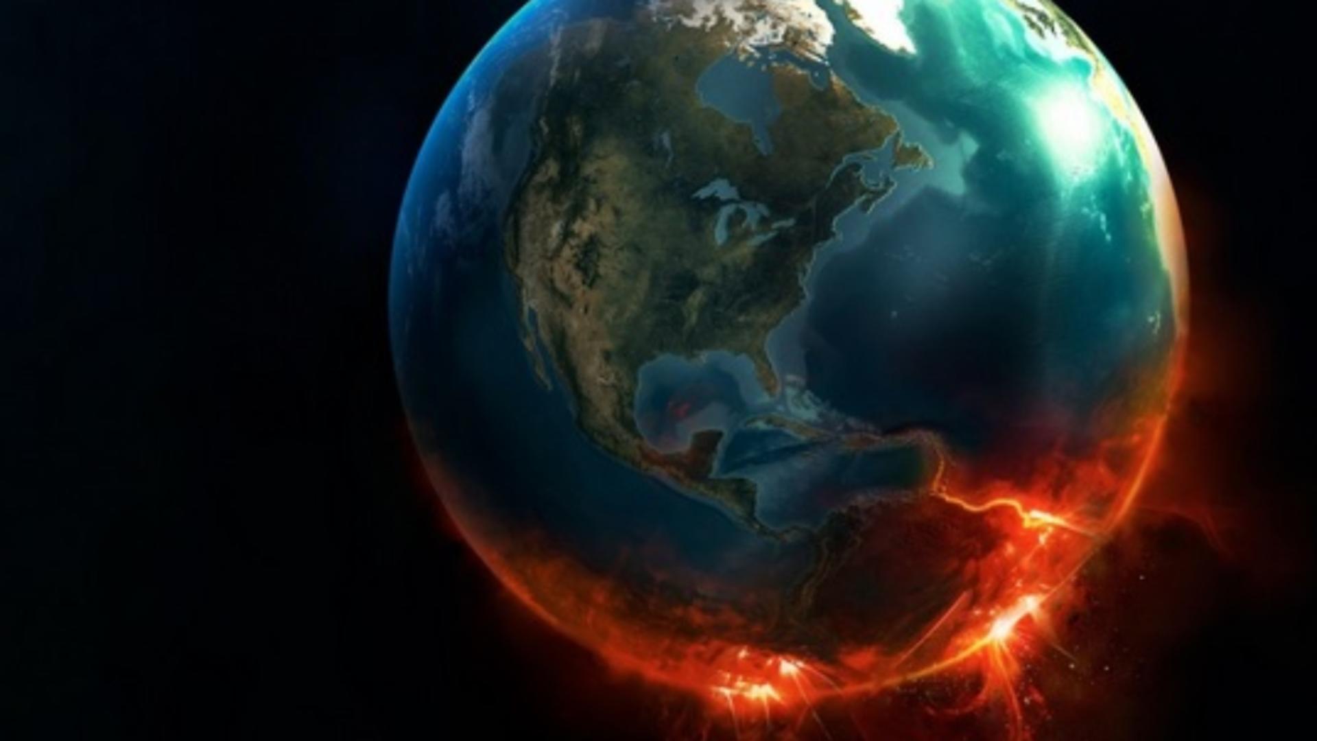 O furtună solară lovește Pământul cu o viteză de 600 de kilometri pe secundă