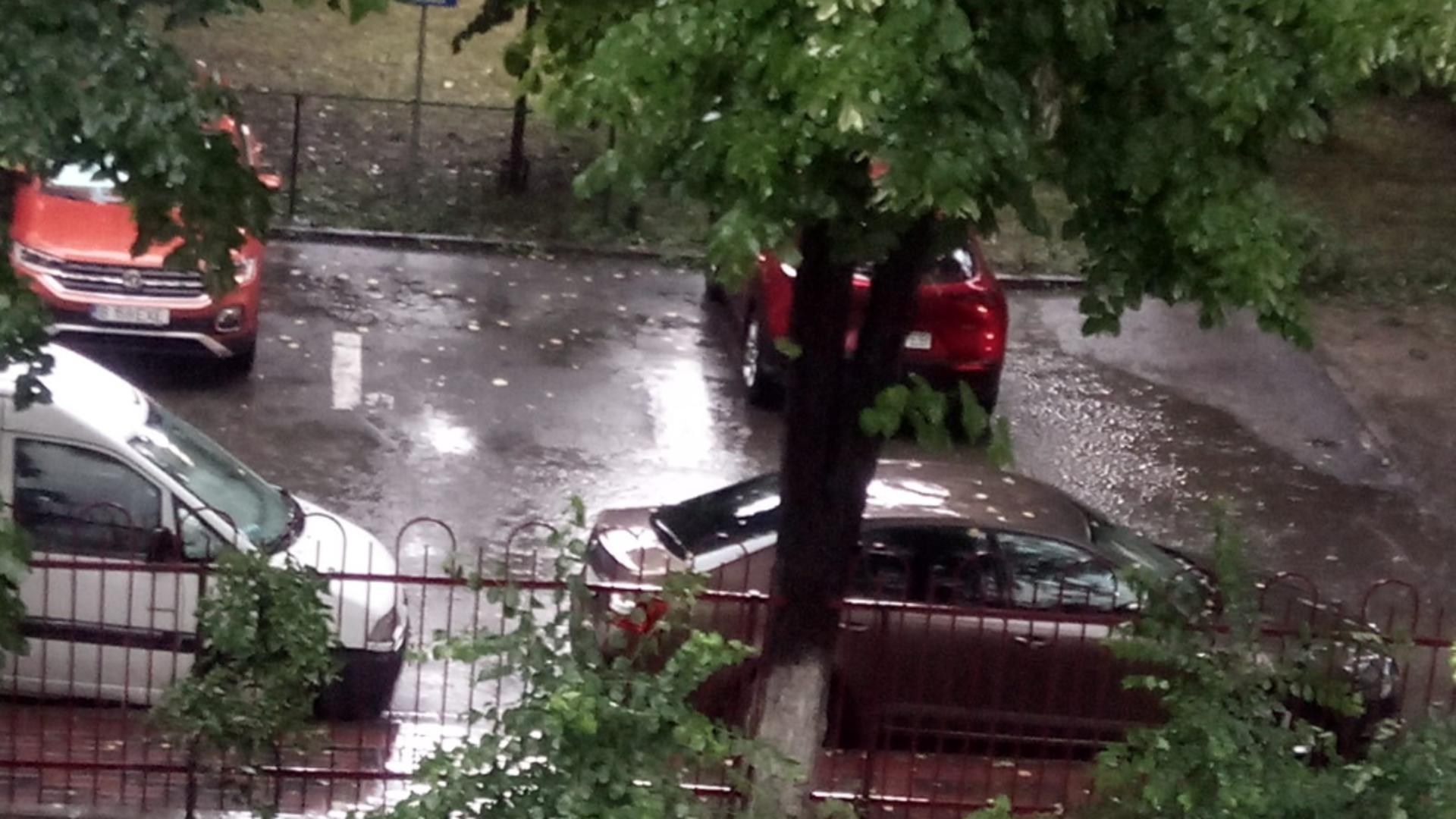 Vreme severă în București