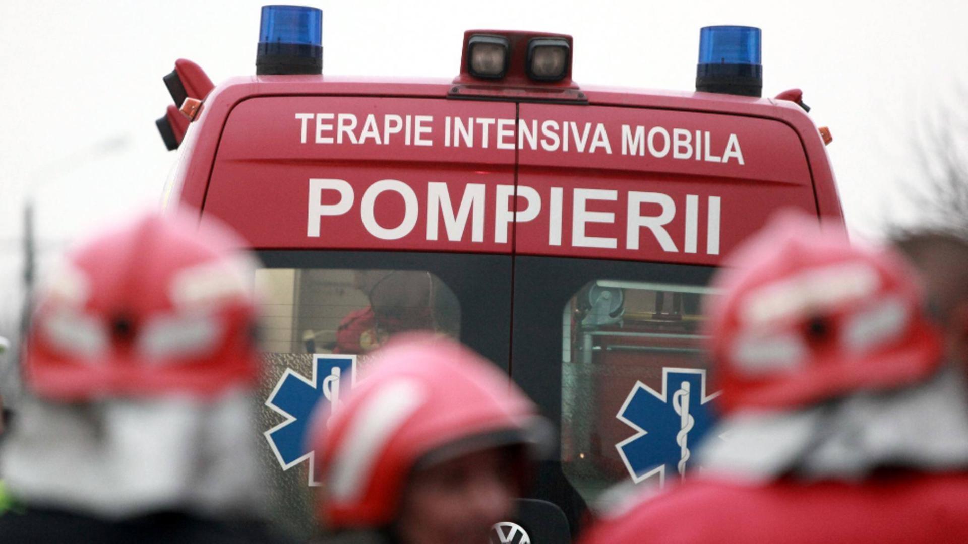 Panică la Spitalul Călinești: zeci de pacienți evacuați - degajare mare de fum