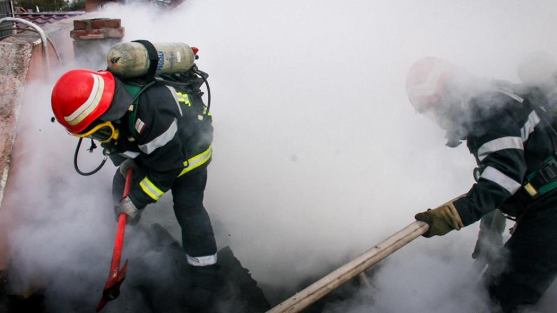 Incendiu Sighișoara
