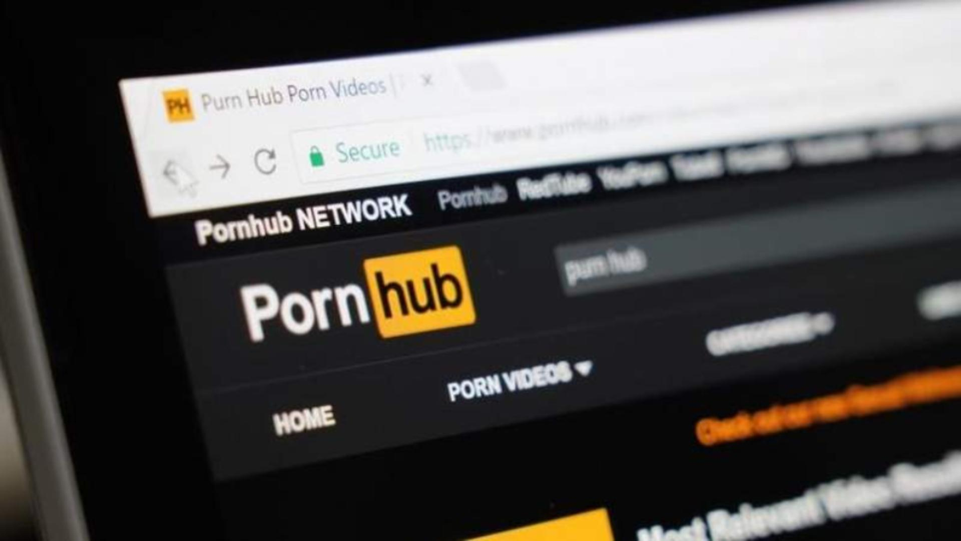 Pagina principala a site-ul pentru adulți Pornhub