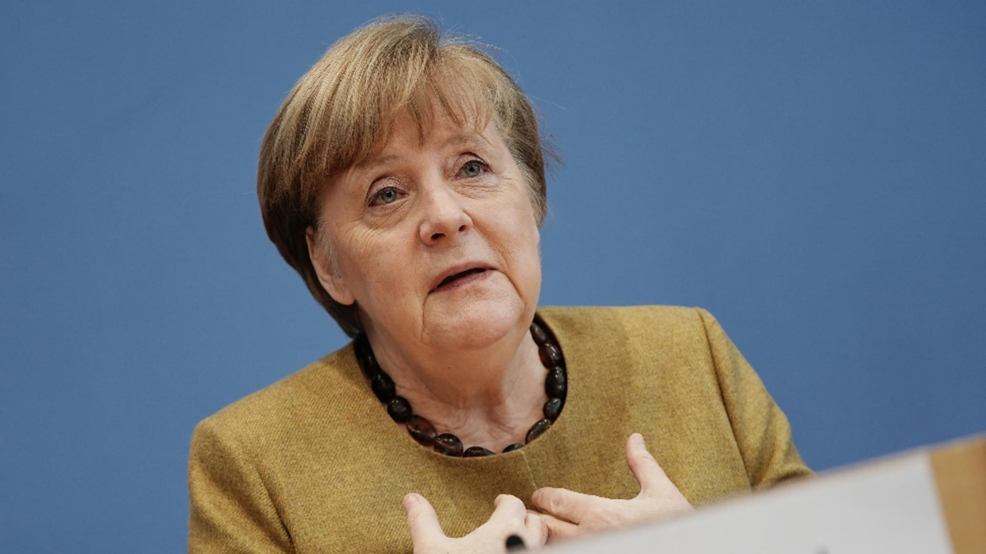 Angela Merkel, cancelar german / Foto: Profimedia