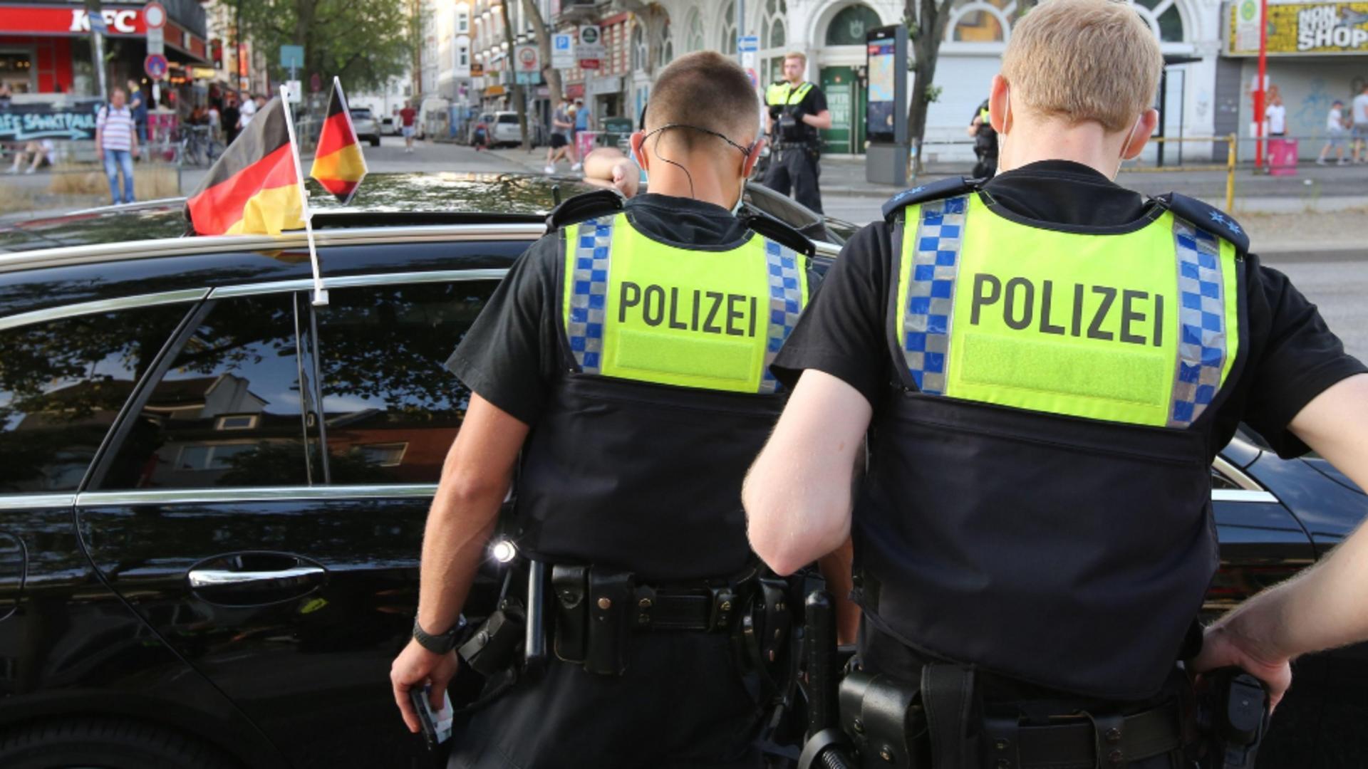 Două persoane au fost înjunghiate, luni, cu un cuţit, în oraşul german Erfurt / Foto: Profi Media
