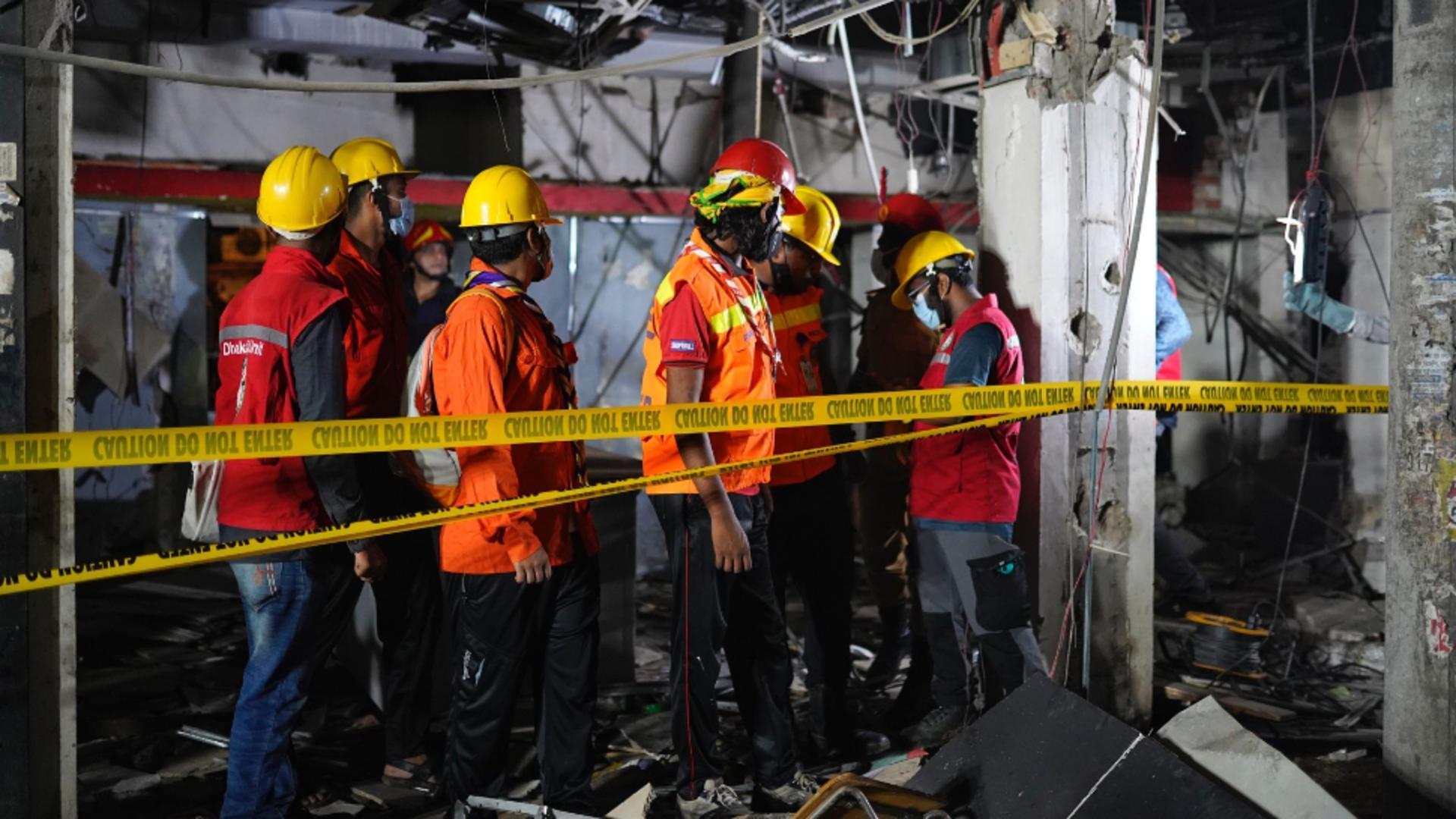 Explozie devastatoare, în Bangladesh / Foto: Profi Media