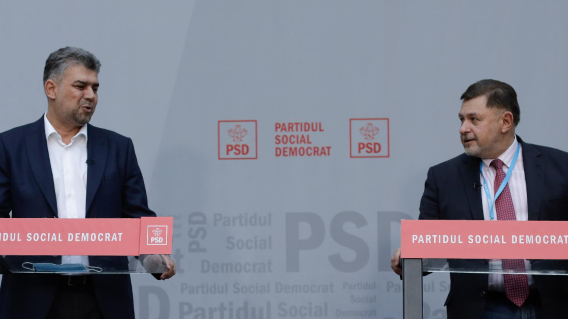 Marcel Ciolacu: Dacă moțiunea de cenzură trece, va fi sesiune extraordinară. Alexandru Rafila premier este propunerea PSD Foto: INQUAM