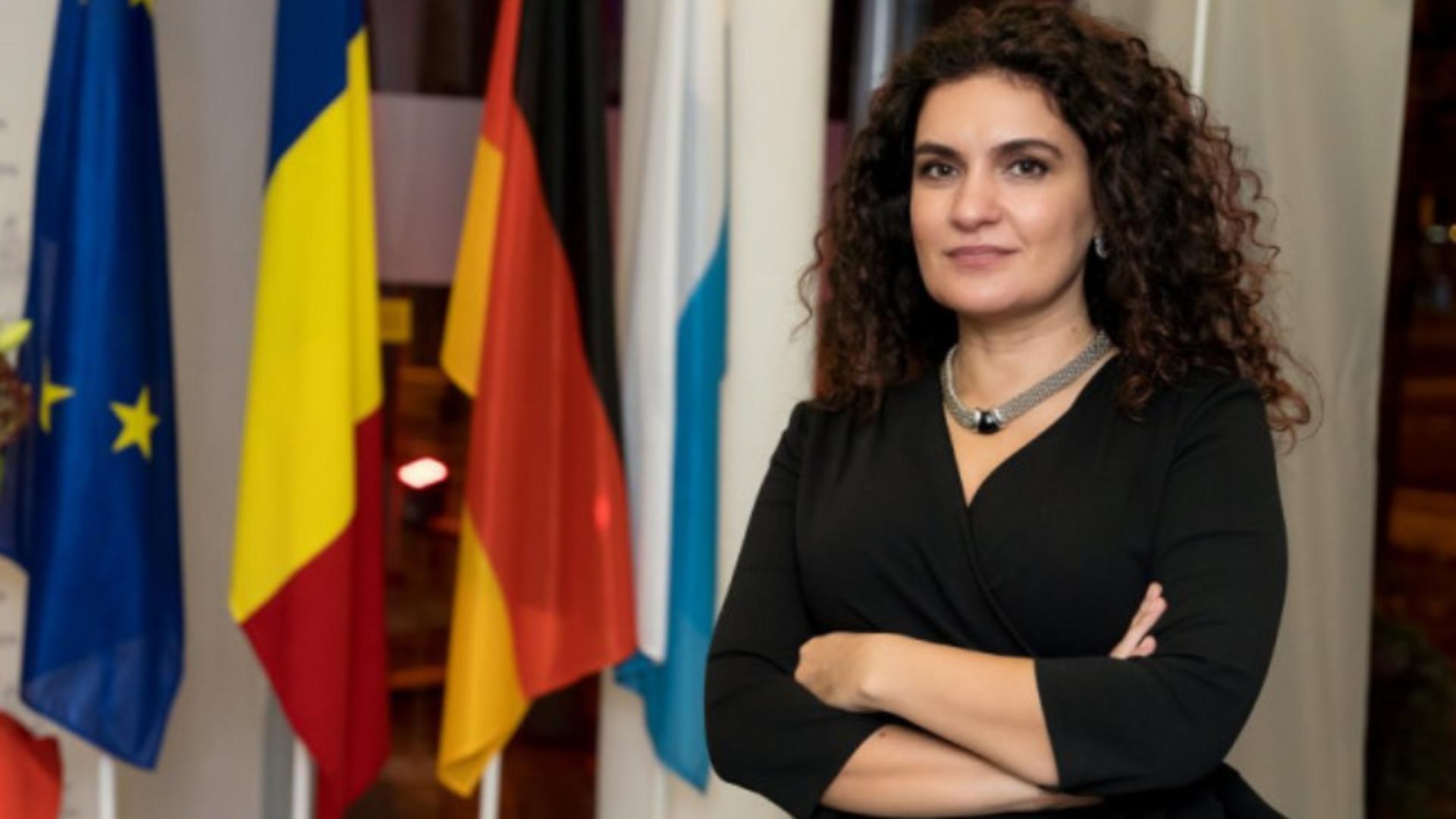 Ramona Iulia Chiriac - șefa Reprezentanței Comisiei Europene în România