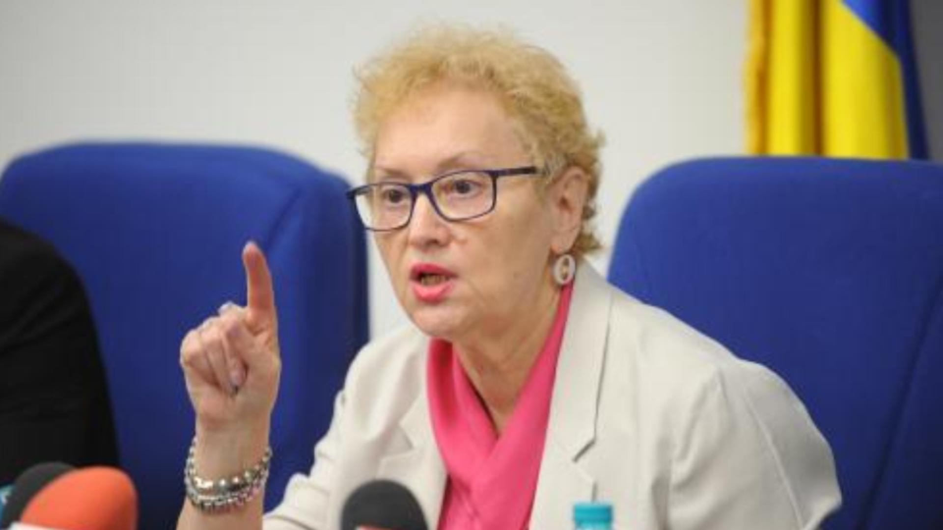 Ce va face Renate Weber dacă va reveni ca Avocat al Poporului - Prima reacție după decizia CCR