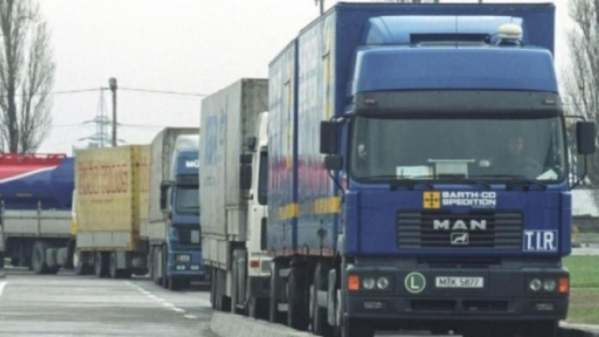 Șofer de TIR, atacat în Franța