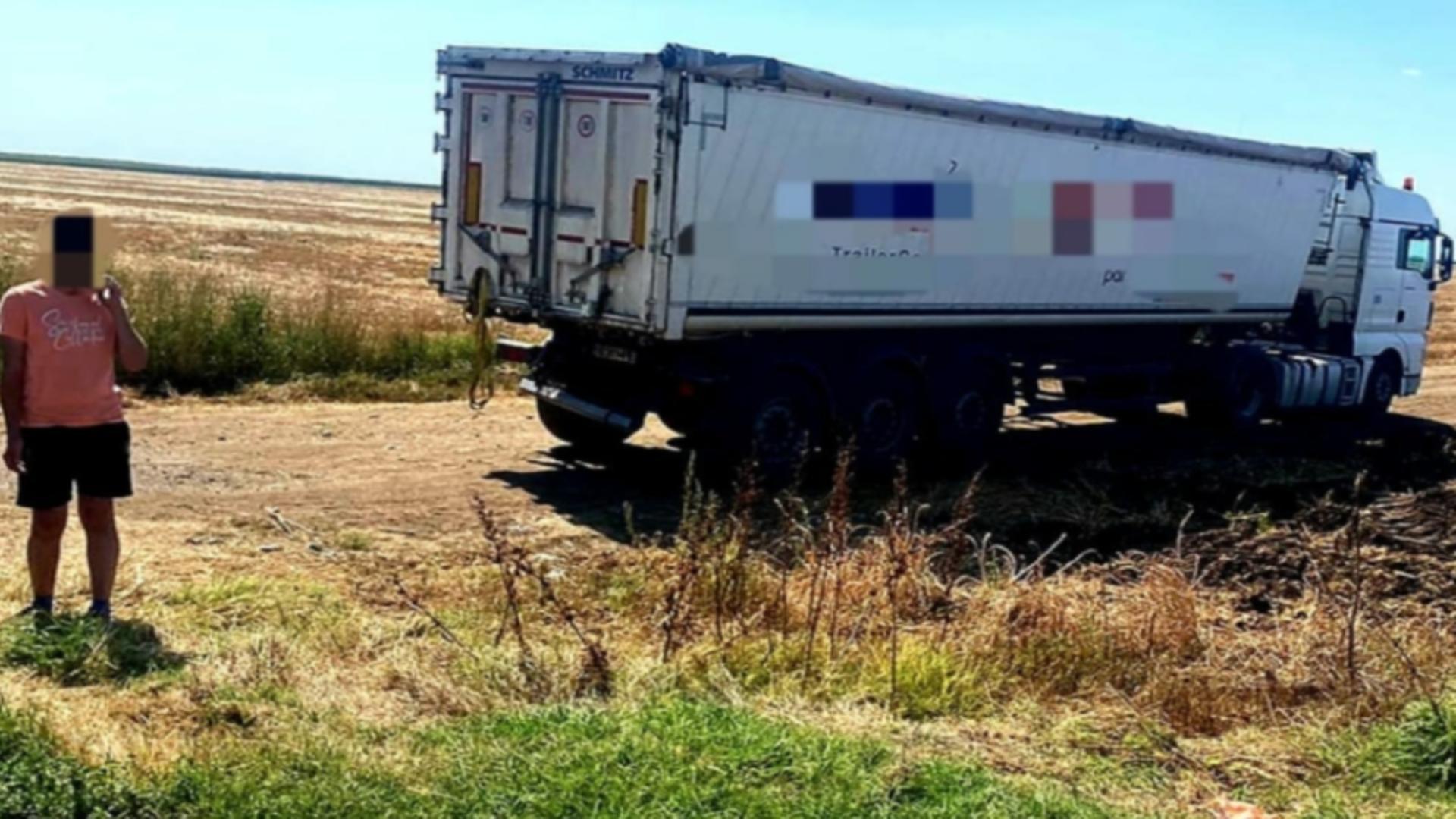 Accident DN2, jud Ialomița