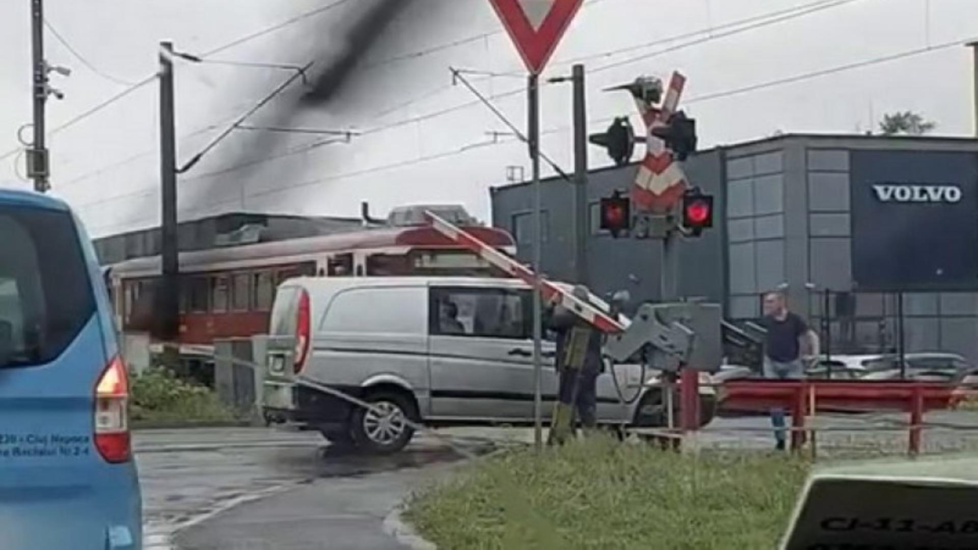 Accident feroviar (arhiva)