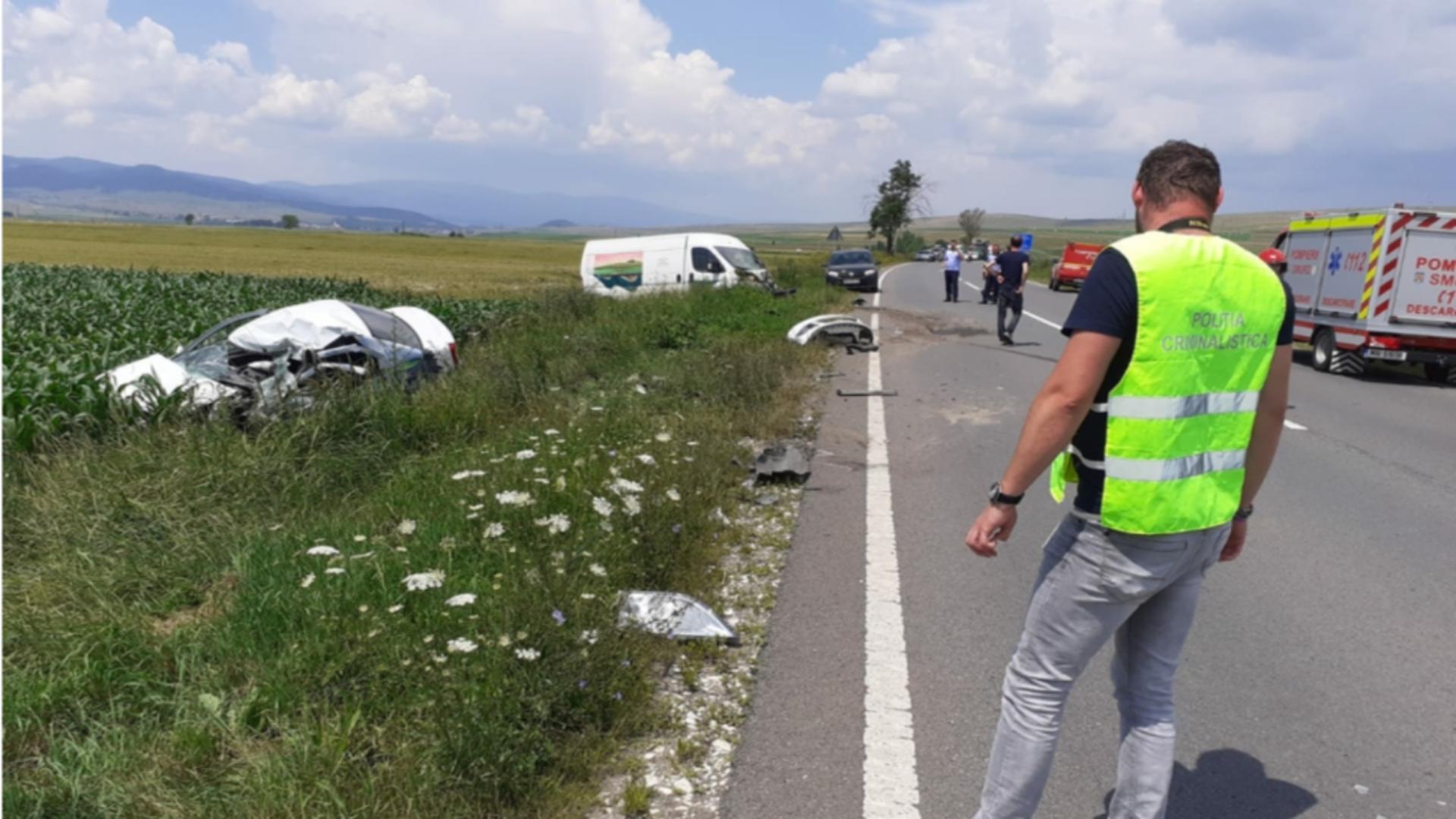 Accident Harghita