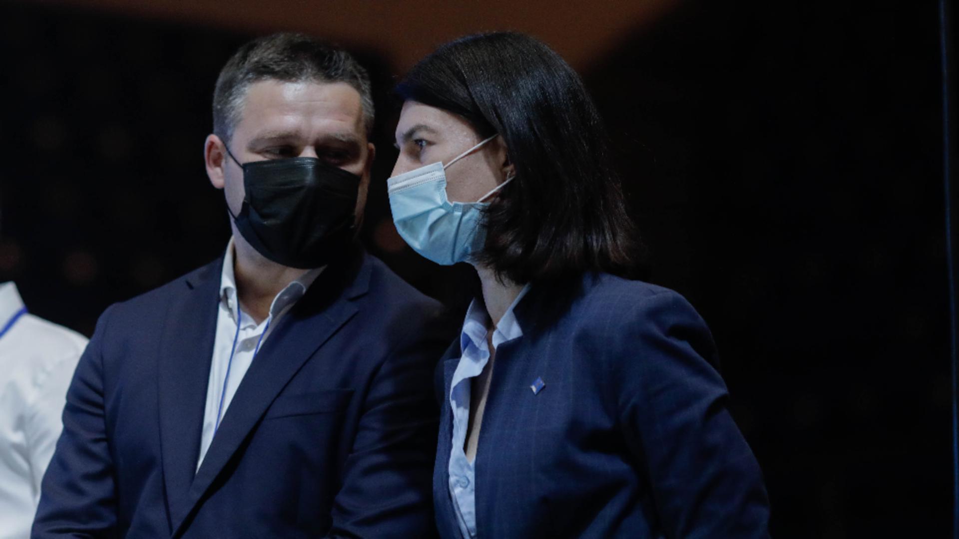 Violeta Alexandru și Ciprian Ciucu / Foto: Inquam Photos / George Calin