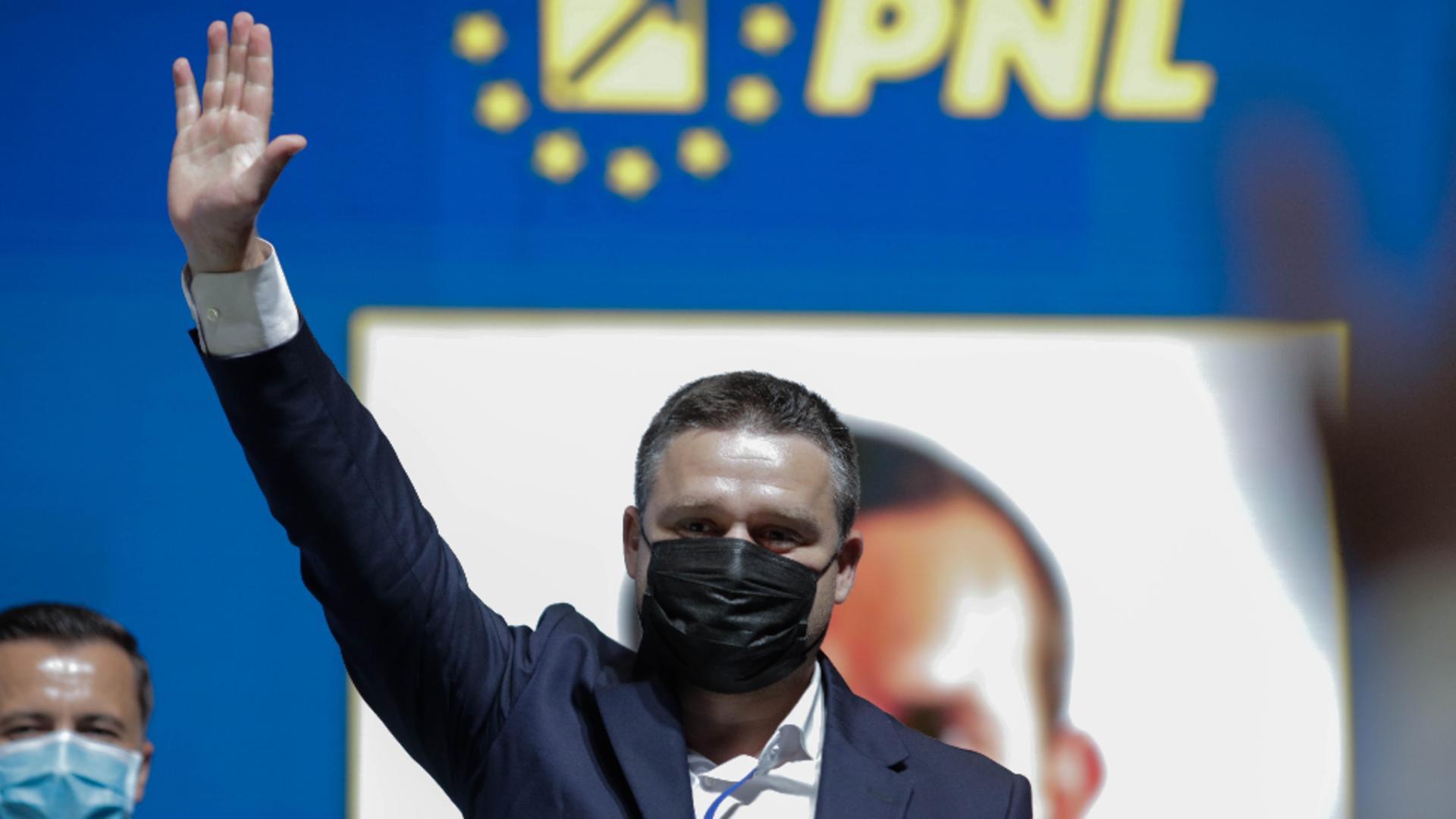 Primarul Sectorului 6, Ciprian Ciucu, noul președinte al PNL București / Inquam Photos / George Calin