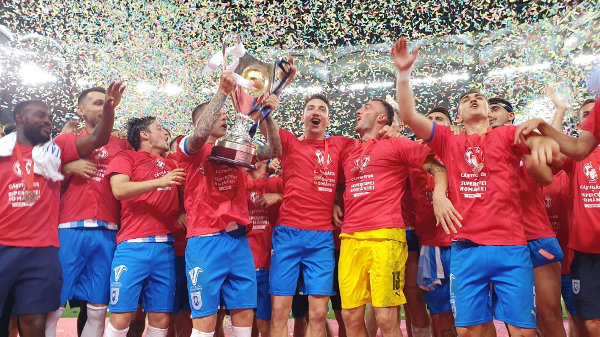 CSU Craiova, după ce a cucerit Supercupa României