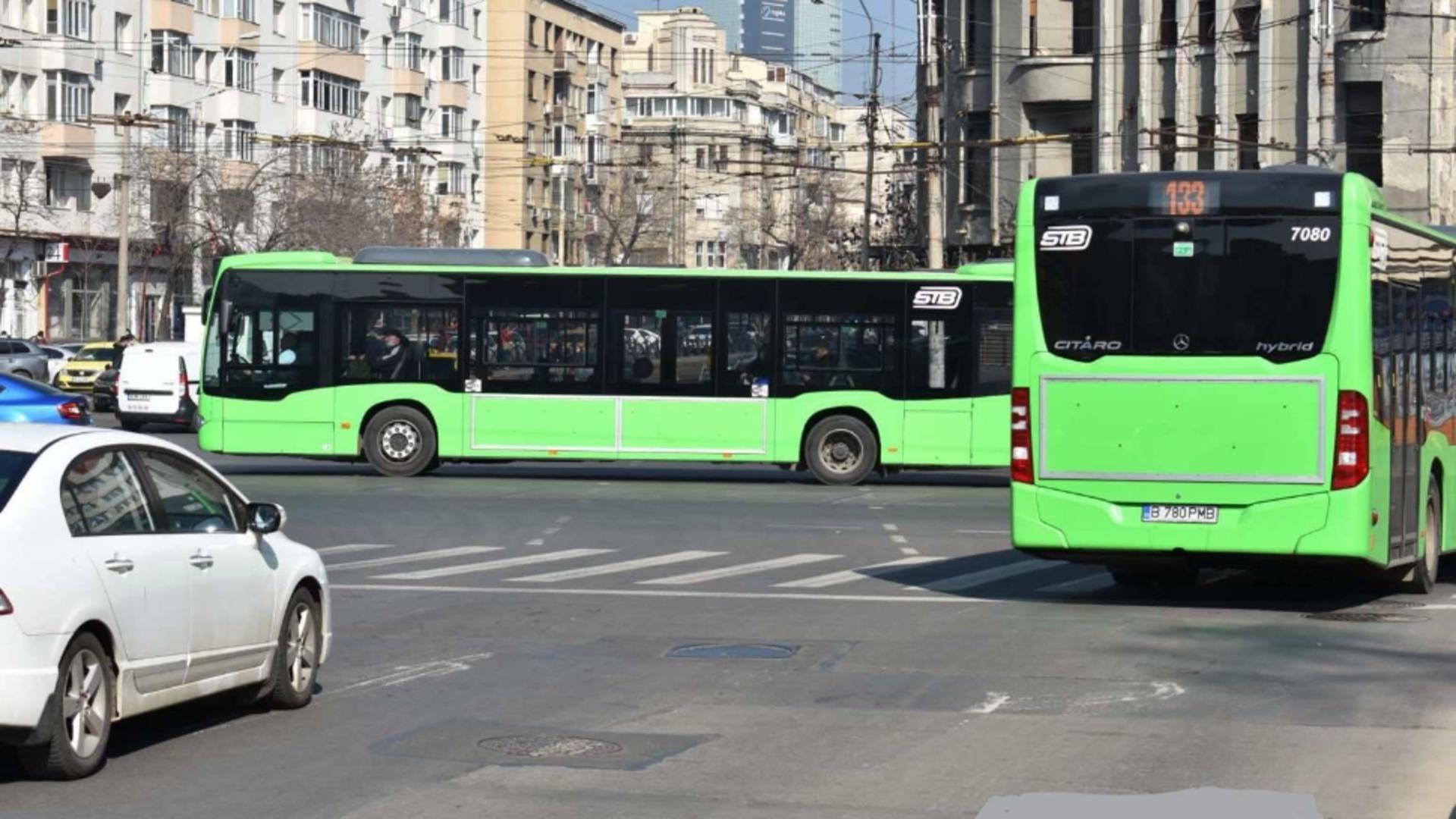 16 linii de transport public, deviate începând de astăzi. Sursa foto: Facebook