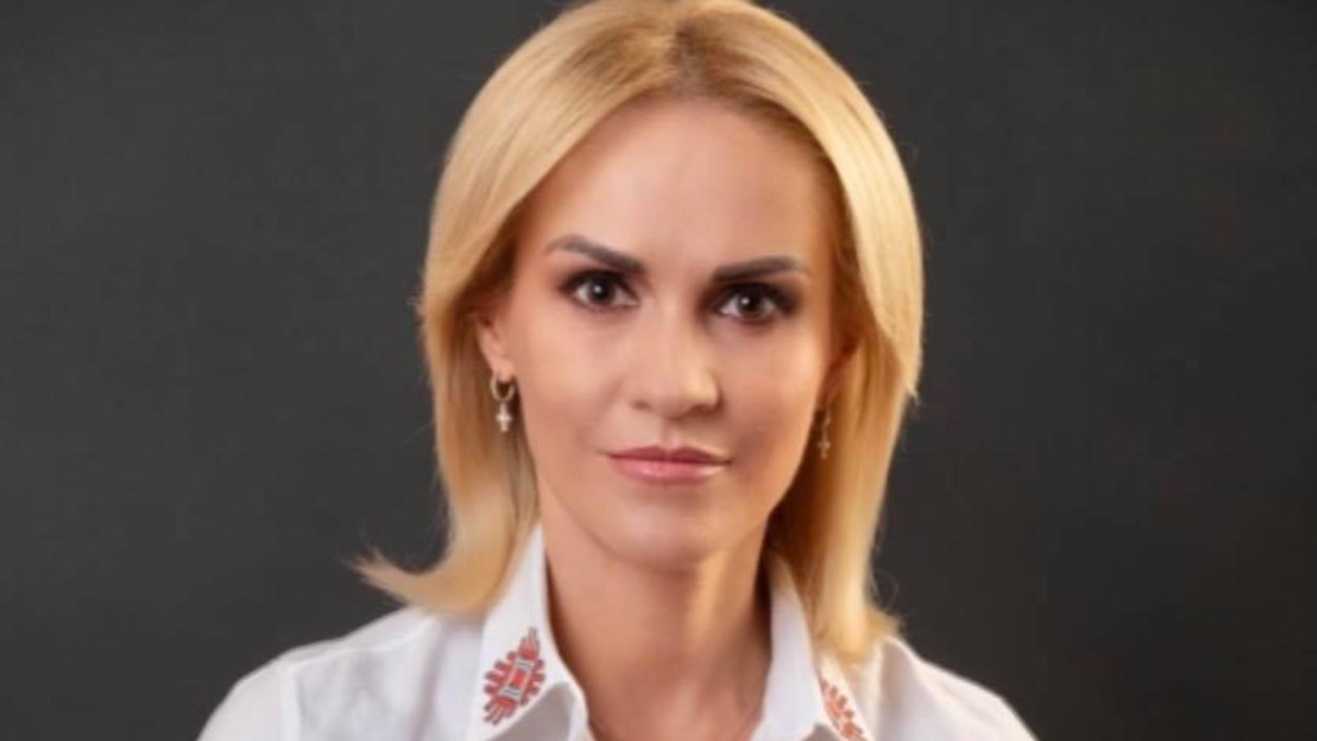 Gabriela Firea, prim-vicepreședinte PSD / Foto: Facebook