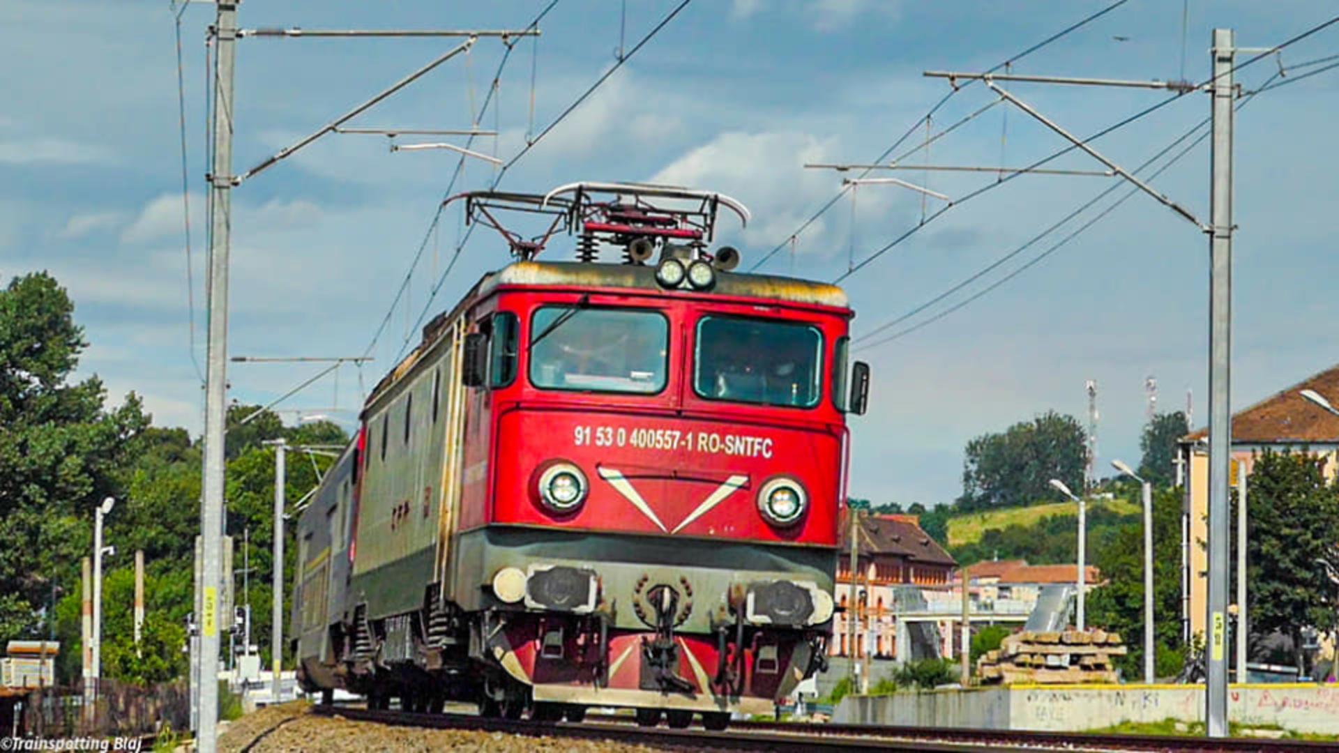 Traficul feroviar pe ruta București-Constanța a fost realuat. Foto: Facebook