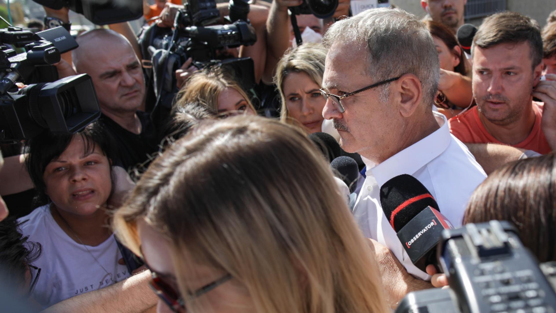 Dragnea a ieșit din penitenciar / Sursă: Inquam Photos - Octav Ganea