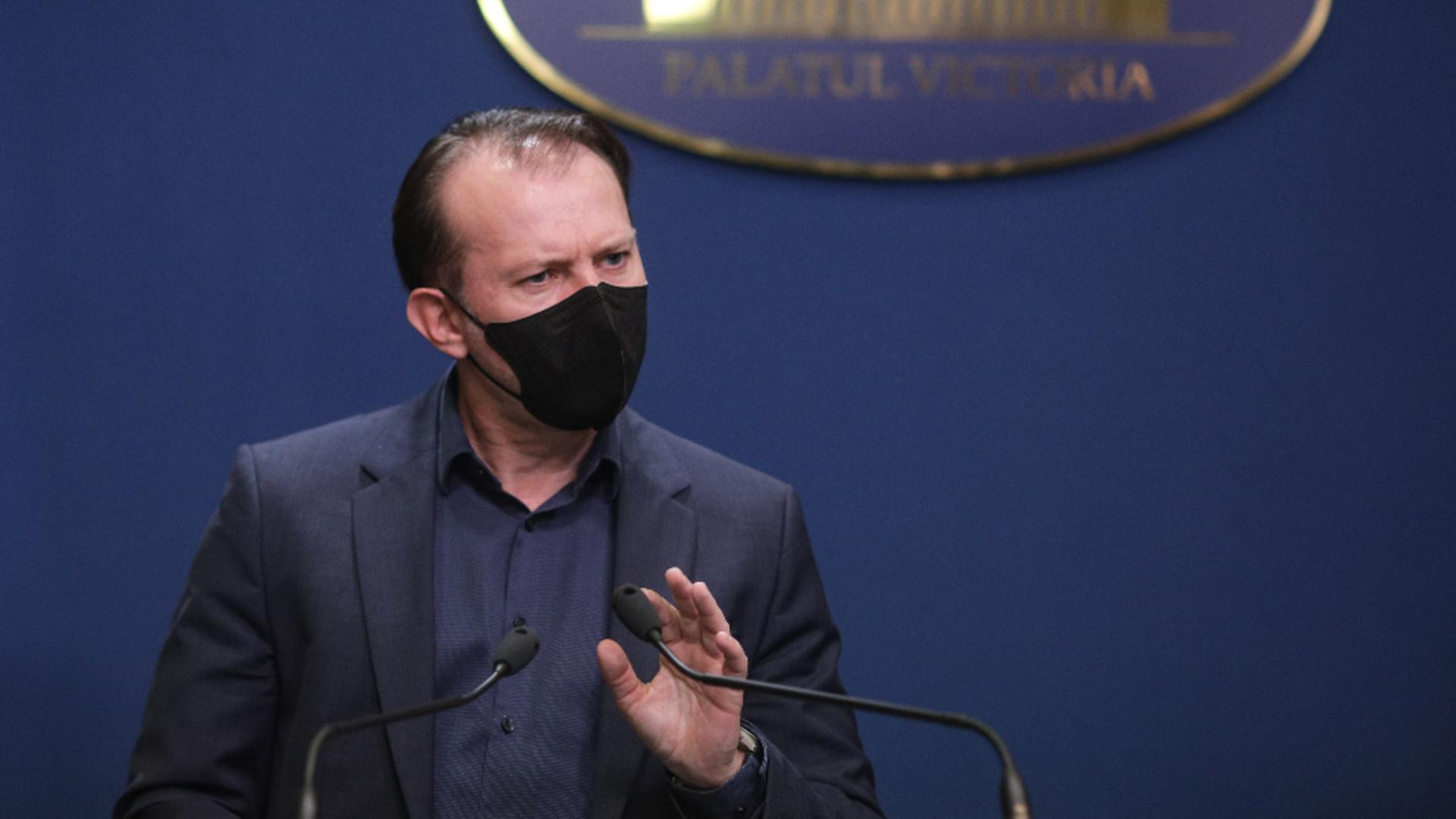 Florin Cîțu, prim-ministrul României / Foto: Octav Ganea