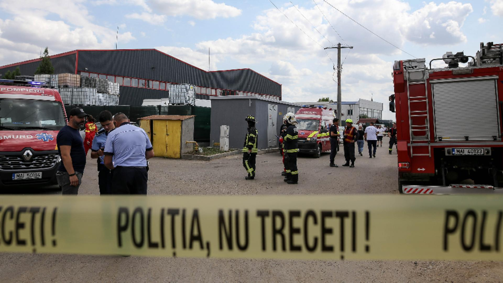 Incendiu Popești Leordeni. Foto: Inquam Photos