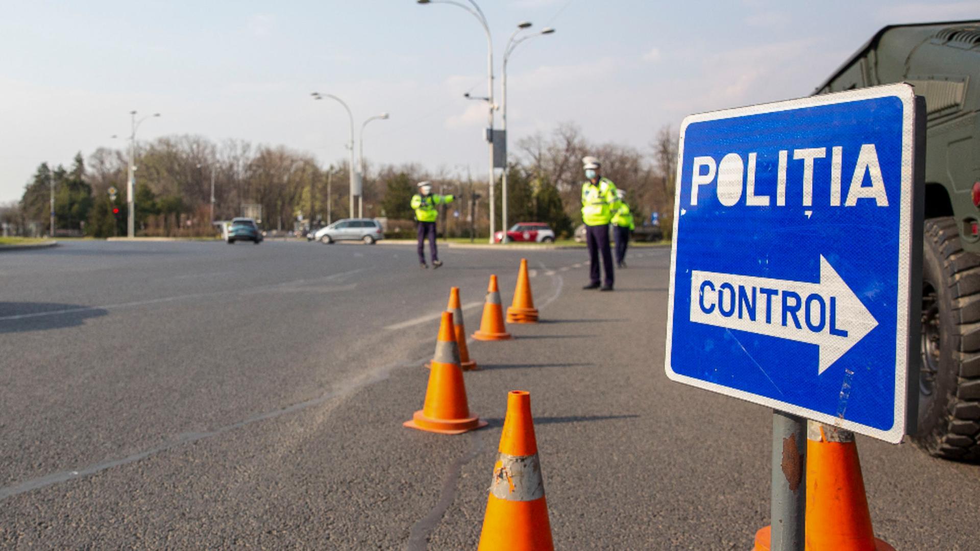 Control în trafic / Foto: Inquam Photos