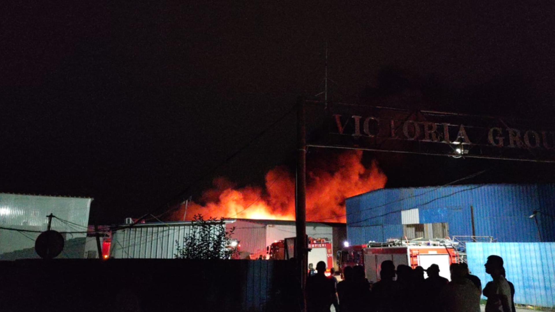 Incendiu Afumați