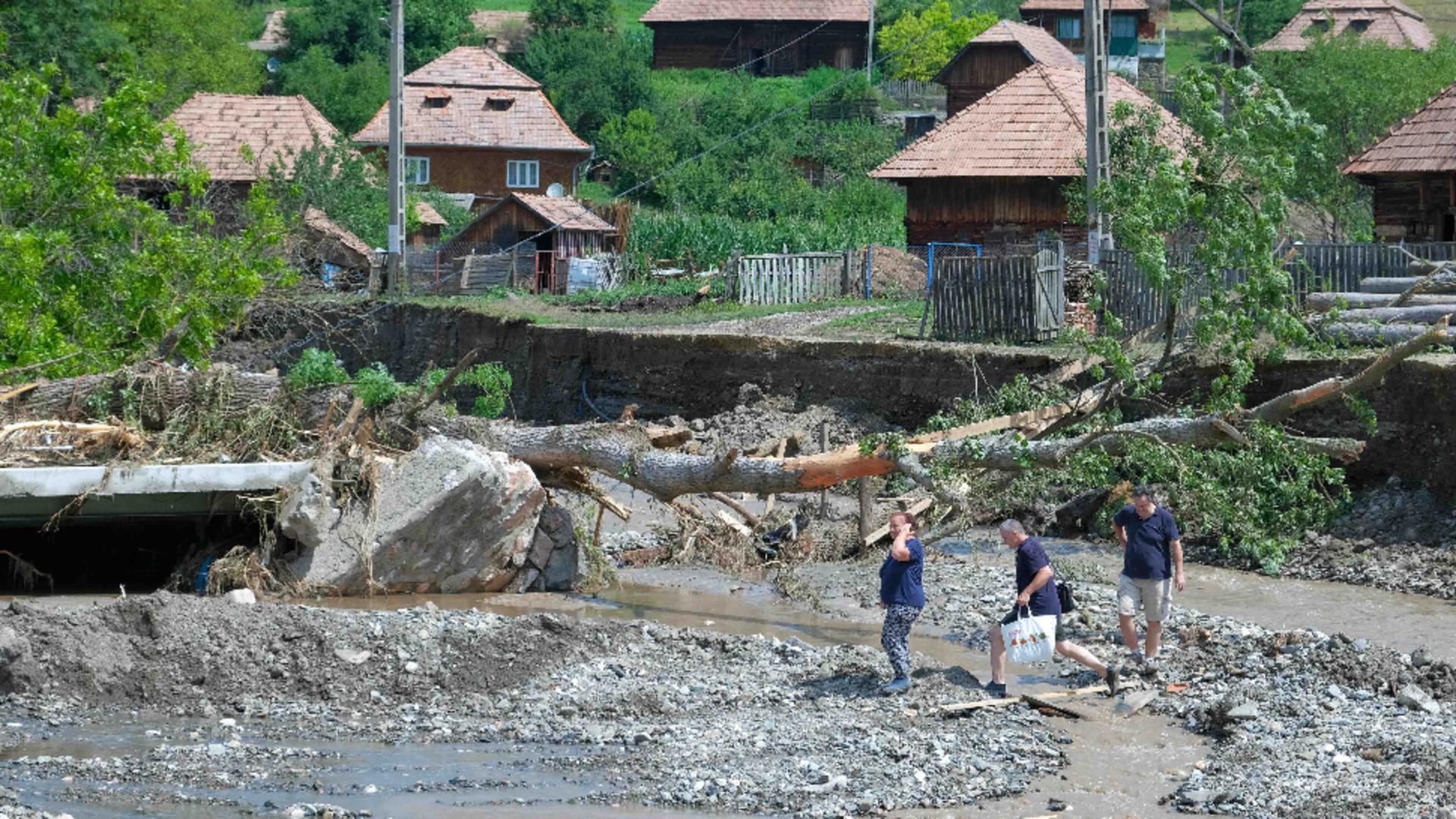 Inundații Alba / Inquam Photos - Raul Ștef