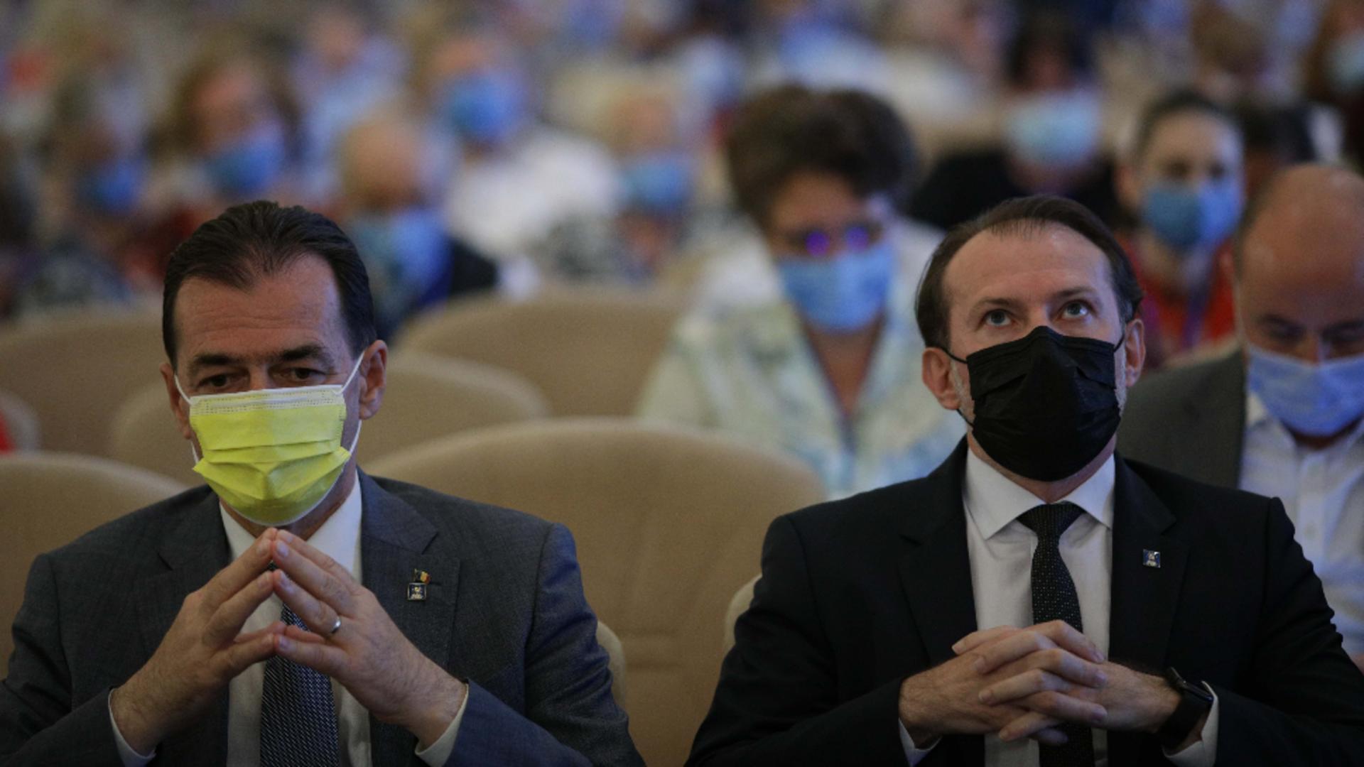 Florin Cîțu și Ludovic Orban (arhivă)